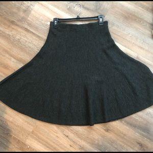 Maeve thick gray skirt